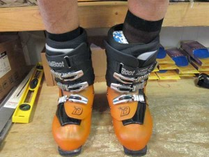 ski boot fitting
