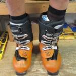 ski boot fitting